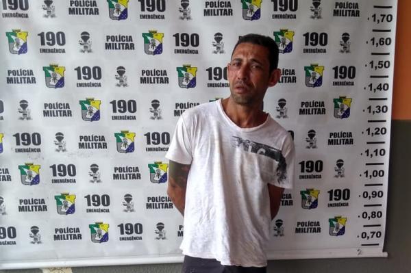 PM prende suspeito de furtar residência na cidade de Estância