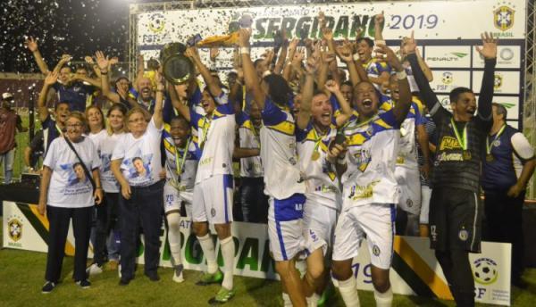 Frei Paulistano vence Itabaiana e é campeão sergipano de 2019