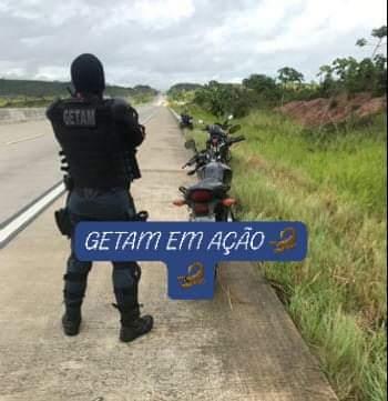 GETAM recupera moto com restrição de roubo/furto em Estância