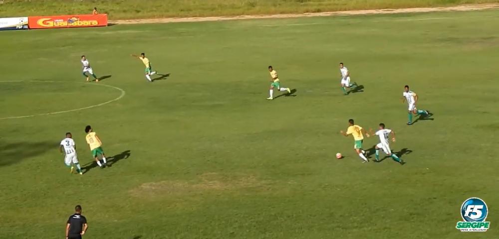 Estanciano goleia Aracaju e consegue primeira vitória no Sergipano A-2