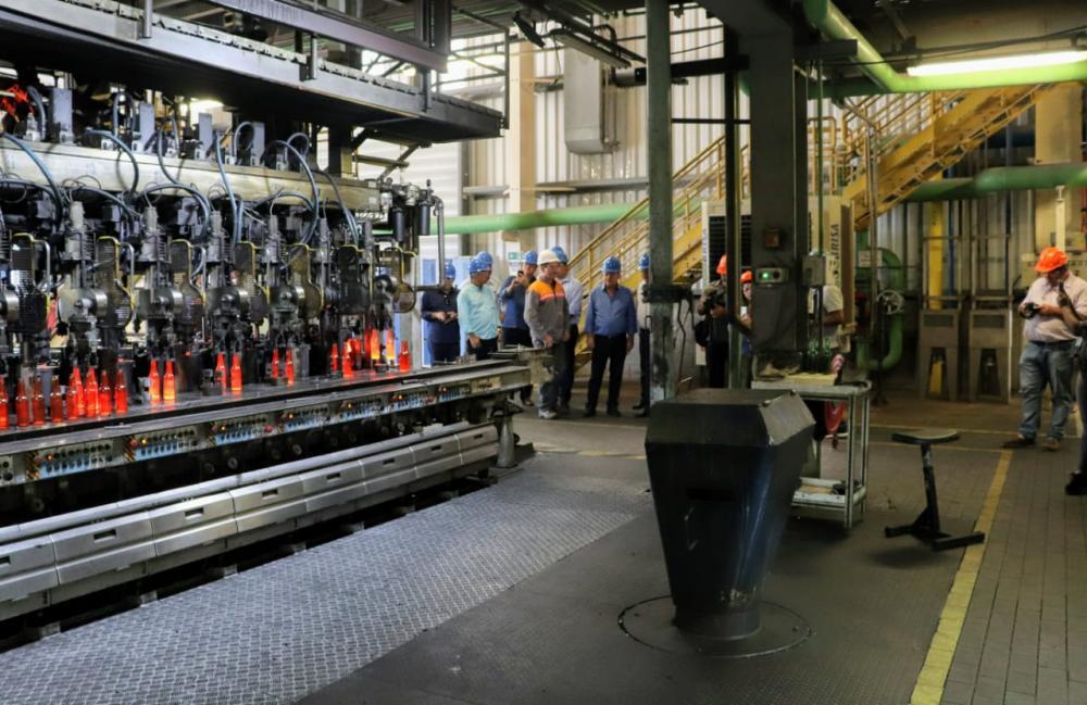 Governo do Estado reduz impostos e Fábrica de Vidros vai aumentar a produção em até 70%