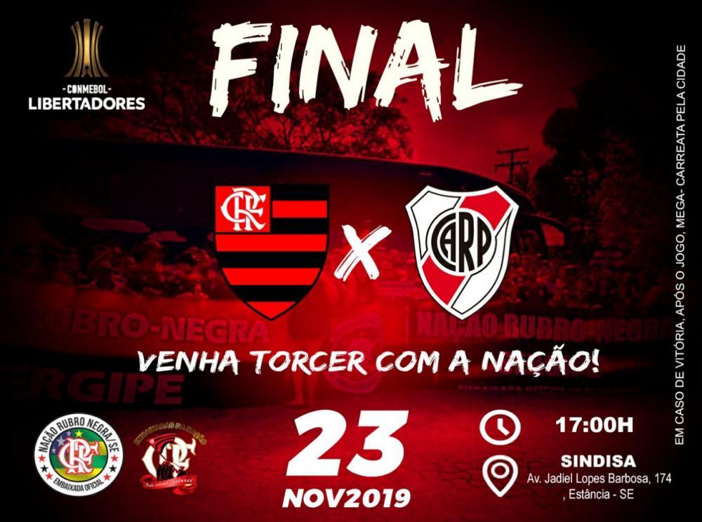 Torcida do Flamengo se mobiliza para a grande final da Taça Libertadores da América