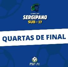 FSF divulga detalhes dos confrontos das quartas de final do Campeonato Sergipano SUB-17