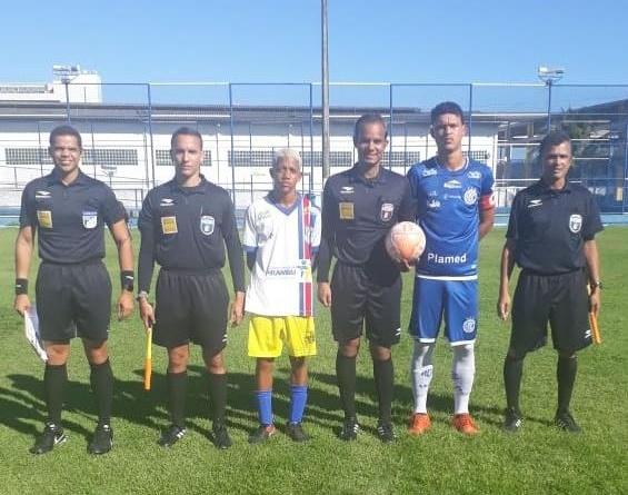 Confiança goleia Nova Geração na 1ª partida das semifinais do Sergipano SUB-17