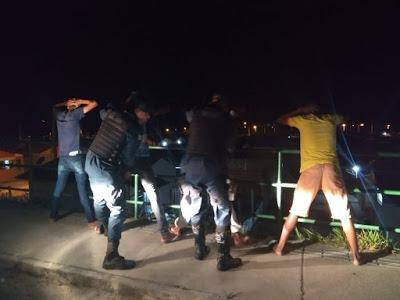 Policia Militar realiza Operação Bloqueio no município de Estância