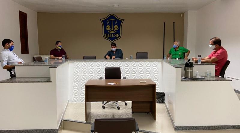 FSF e clubes do quadrangular debatem a possibilidade da retomada do Campeonato Sergipano