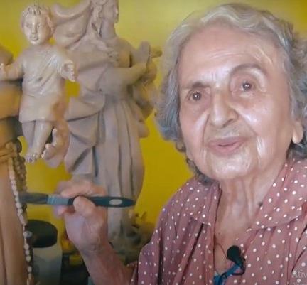 Artesã estanciana Judite Melo morre aos 95 anos .