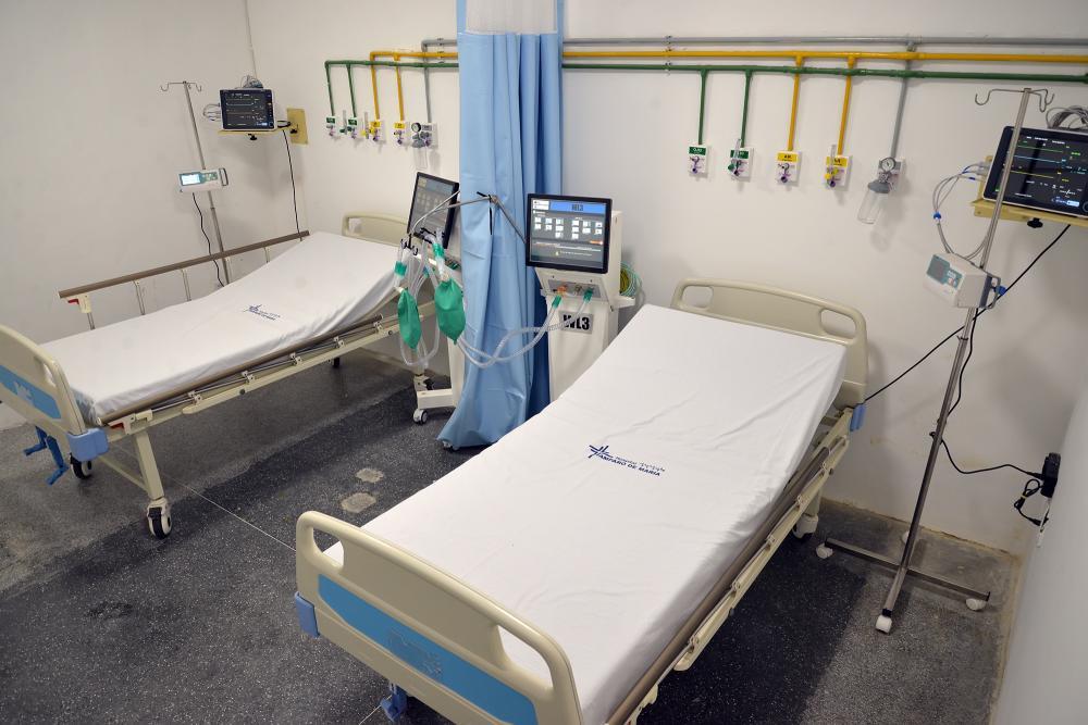Em Estância, 21 novos leitos de UTI são disponibilizados no Hospital Amparo de Maria