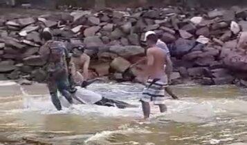Homem morre afogado na praia do saco em Estância