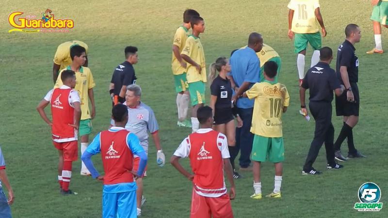 Jogo termina em confusão entre Estanciano 1 x 4 América/SE - 28/09/2019
