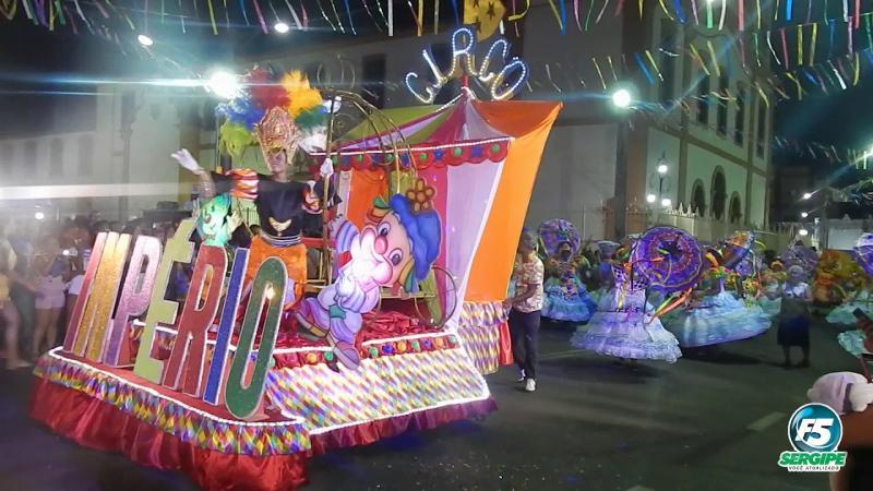 Desfile das Escolas de Samba - 2020 - Estância/SE